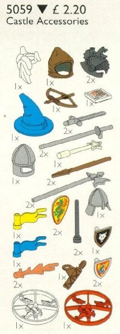 H5//5 Lego x47 Ritter Piraten Federschmuck 5059 6009 6057 6076 6082 6086 6268